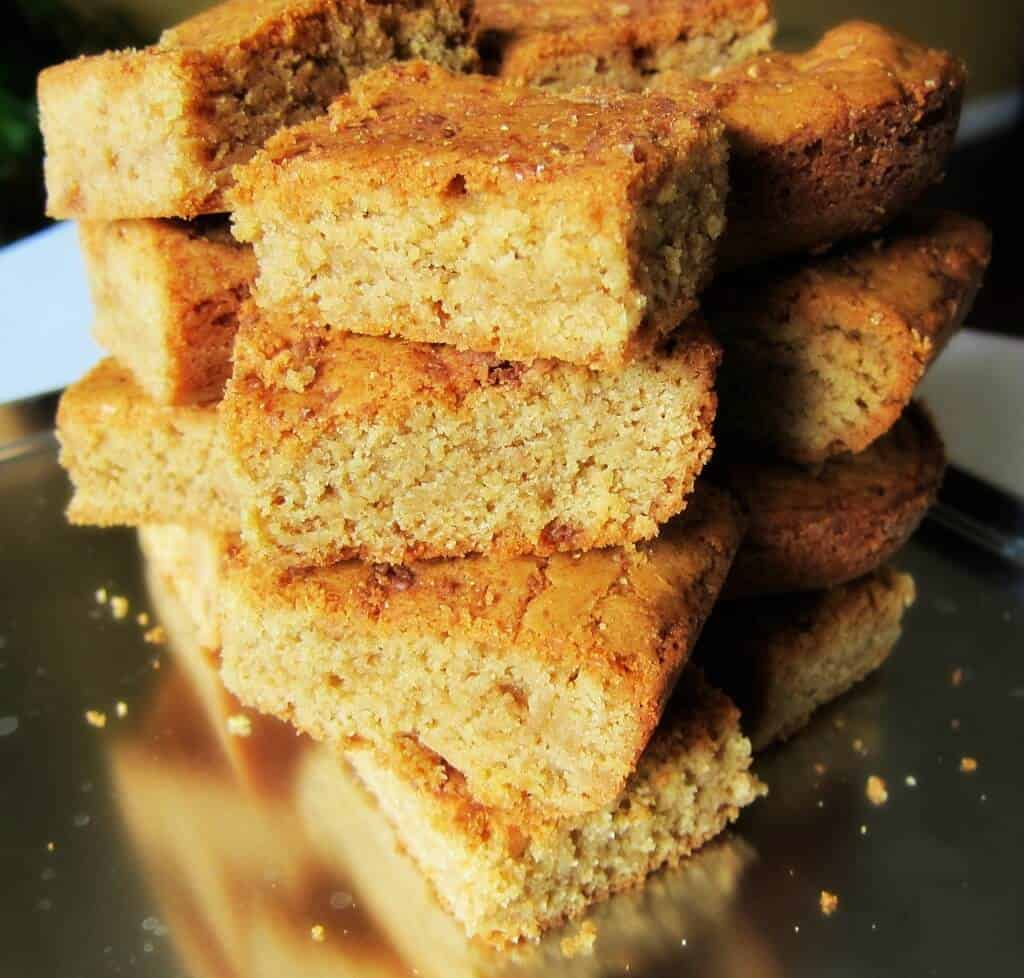 Whole Wheat Blondies