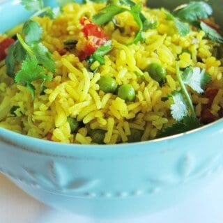 Yellow Rice with Peas