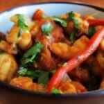 Caribbean Stir Fry Shrimp