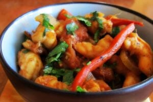Caribbean Stir Fry Shrimp