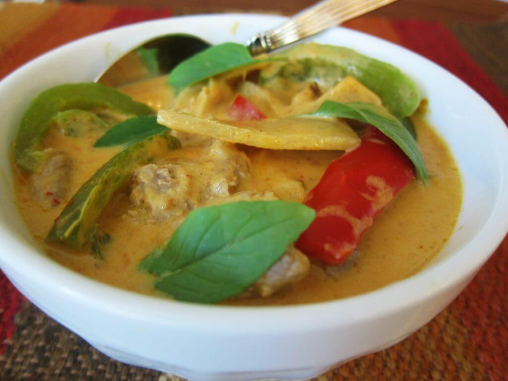 Thai Red Curry Pork