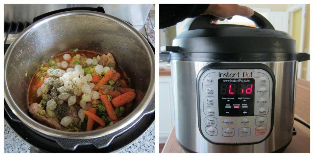 Instant Pot Coq au Vin Blanc Instructions 5 - Paint the Kitchen Red