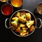 Instant Pot Aloo Gobi | Indian Cauliflower with Potatoes - Paint the Kitchen Red