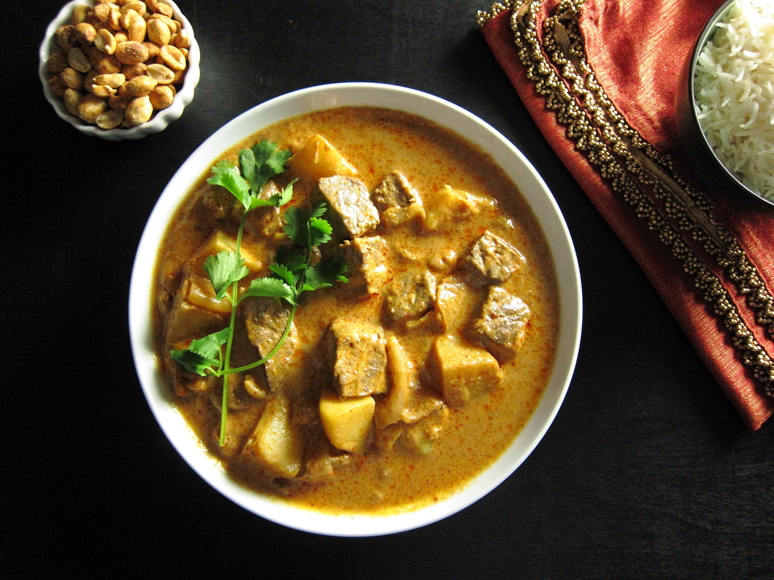 Flavorful Thai Instant Pot Massaman Curry with Beef