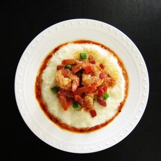 Instant Pot Shrimp and Grits P2- Paint the Kitchen Red