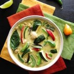 Instant Pot Thai Green Curry with Chicken P1 - Paint the Kitchen Red