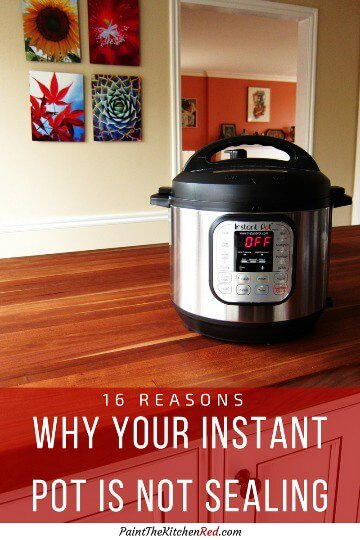 16 Reasons Your Instant Pot Is Not Sealing Sidebar - Paint the Kitchen Red