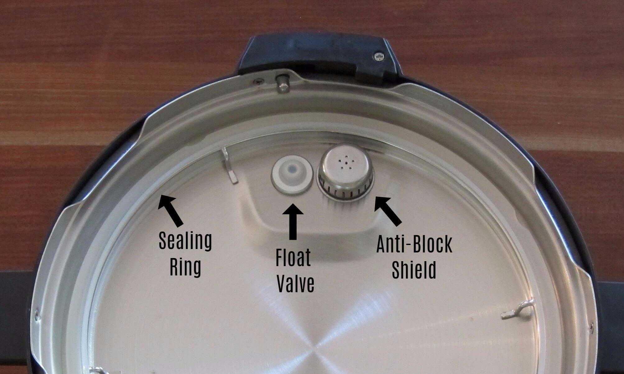 Float Valve Anti Block Sealing Ring in Lid