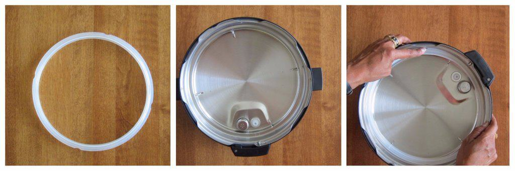 Instant Pot Ultra Install sealing ring