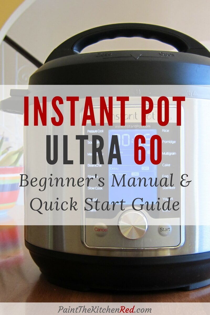 If you've just received your new Instant Pot Ultra multi cooker, but don't know what to do next, this beginner's guide to using the Instant Pot Ultra is going to help you get started. It shows you the parts of the Instant Pot Ultra and walks you through the Water Test (Initial Test Run). #instantpot #ultra #tips #howto