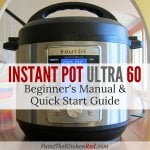Instant Pot Ultra Beginners Quick Start Guide - Paint the Kitchen Red