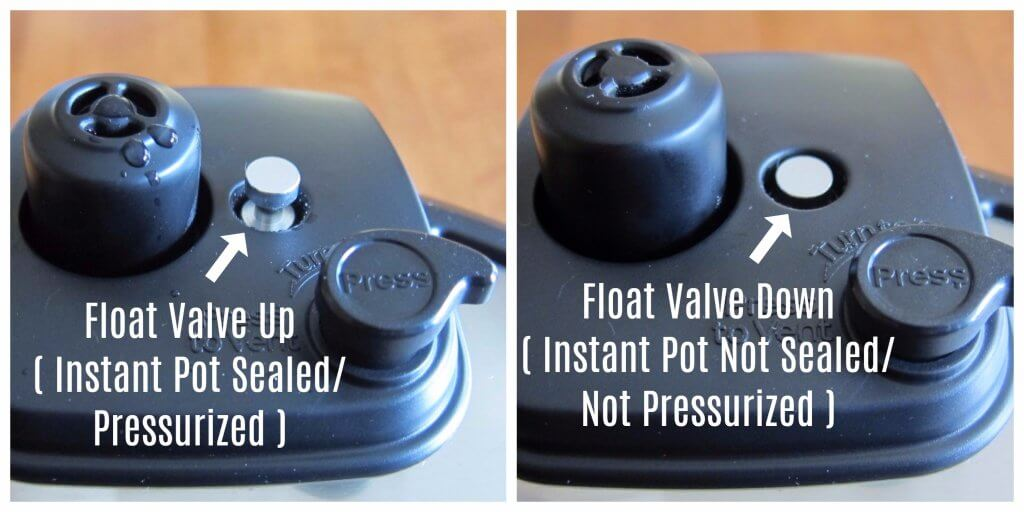 Instant Pot Ultra Float Valve sealed to unsealed