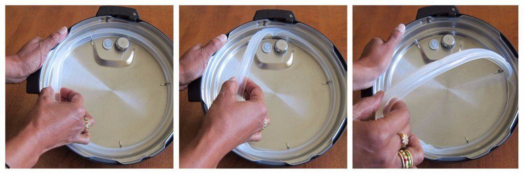 Instant Pot Ultra Remove Sealing Ring from lid