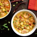 Creamy Instant Pot Chipotle Shrimp Soup L11 - Paint the Kitchen Red