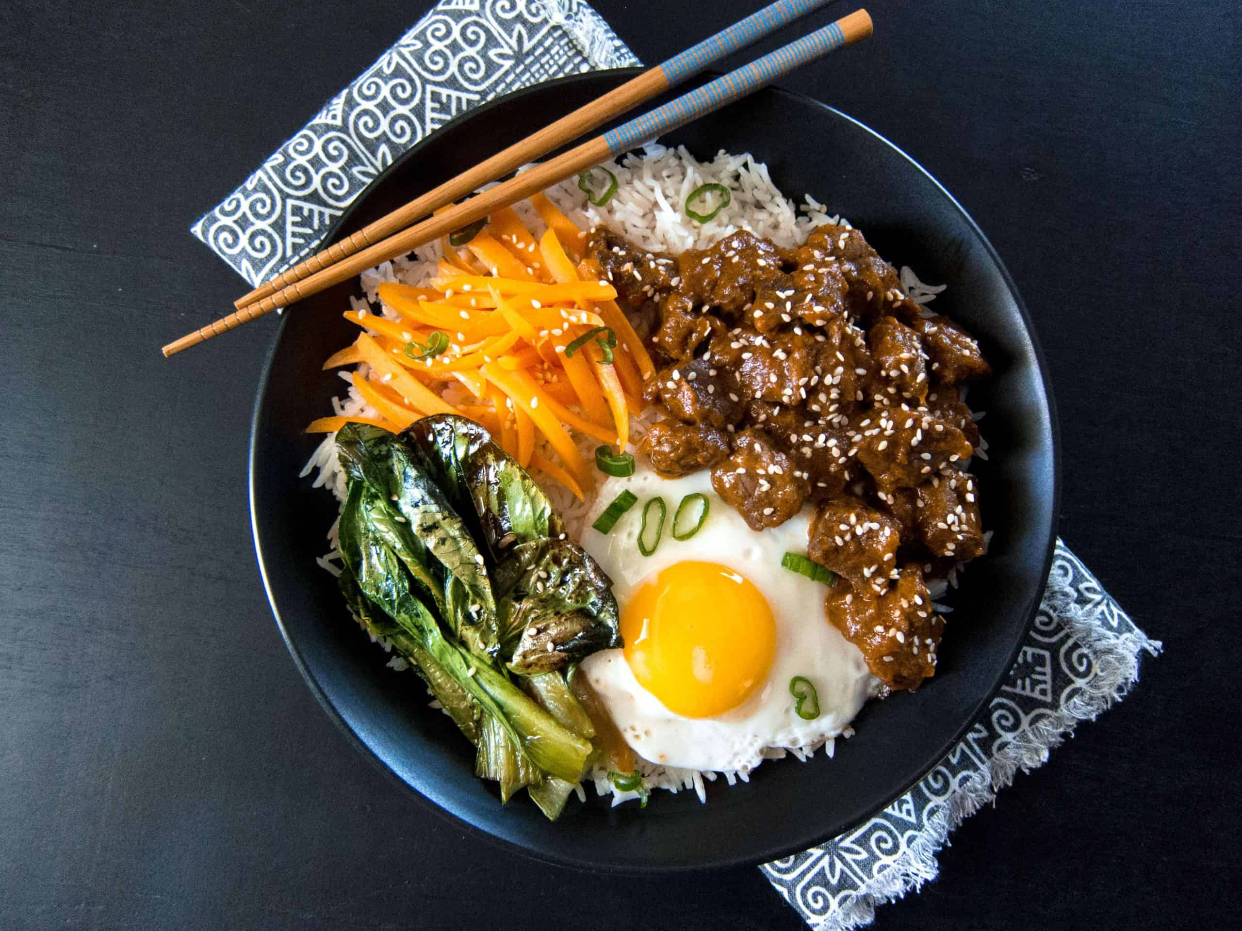 Instant Pot Korean Beef L1 - Paint the Kitchen Red