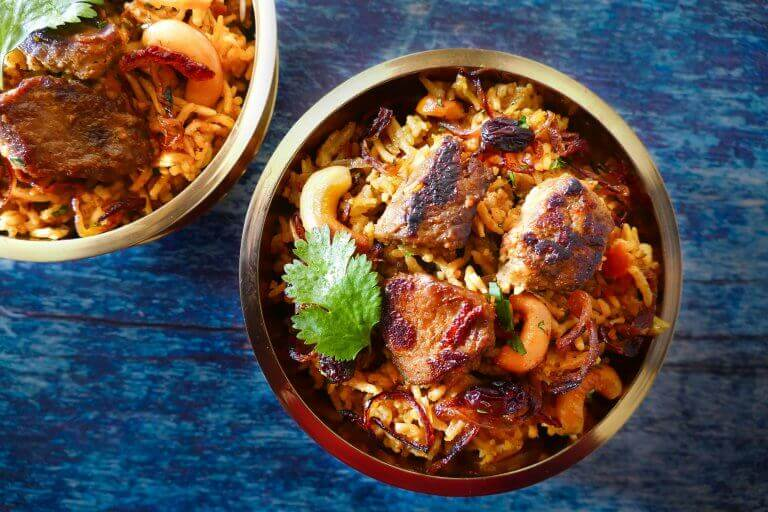 Tasty Instant Pot Biryani adapted from a family favorite!