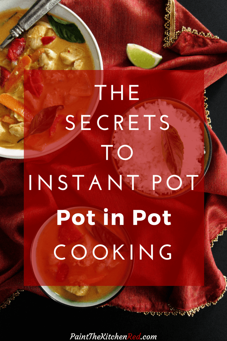 Instant Pot 'Pot in Pot' (PIP) is a cooking method that allows you take pressure cooking to the next level. The Pot in Pot cooking technique allows you to pressure cook cheesecakes, desserts, and other foods that don't contain liquid. Pot in Pot also allows you to cook dishes that tend to scorch, and to make multiple dishes at the same time. #instantpot #tips #potinpot