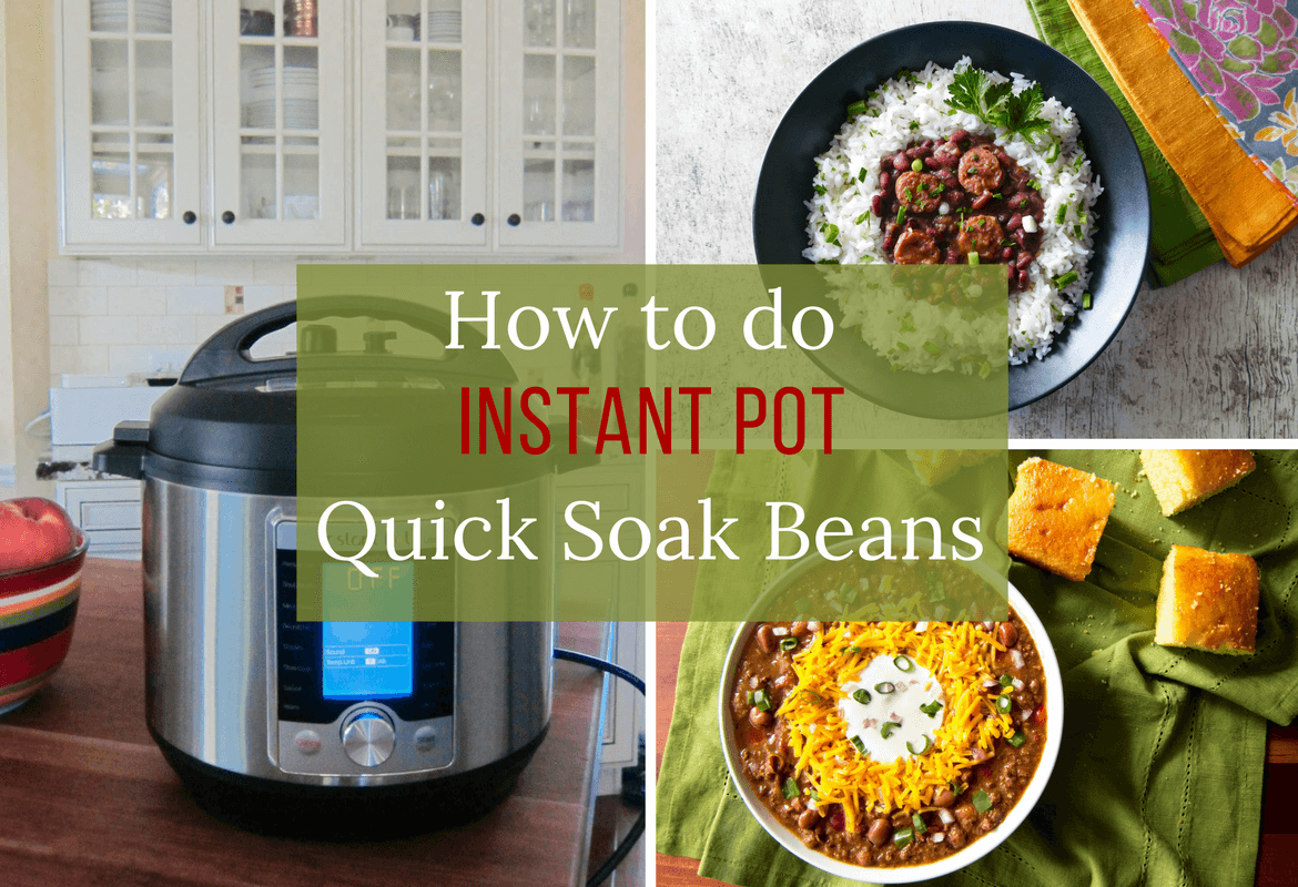 how to cook dry red beans in instant pot