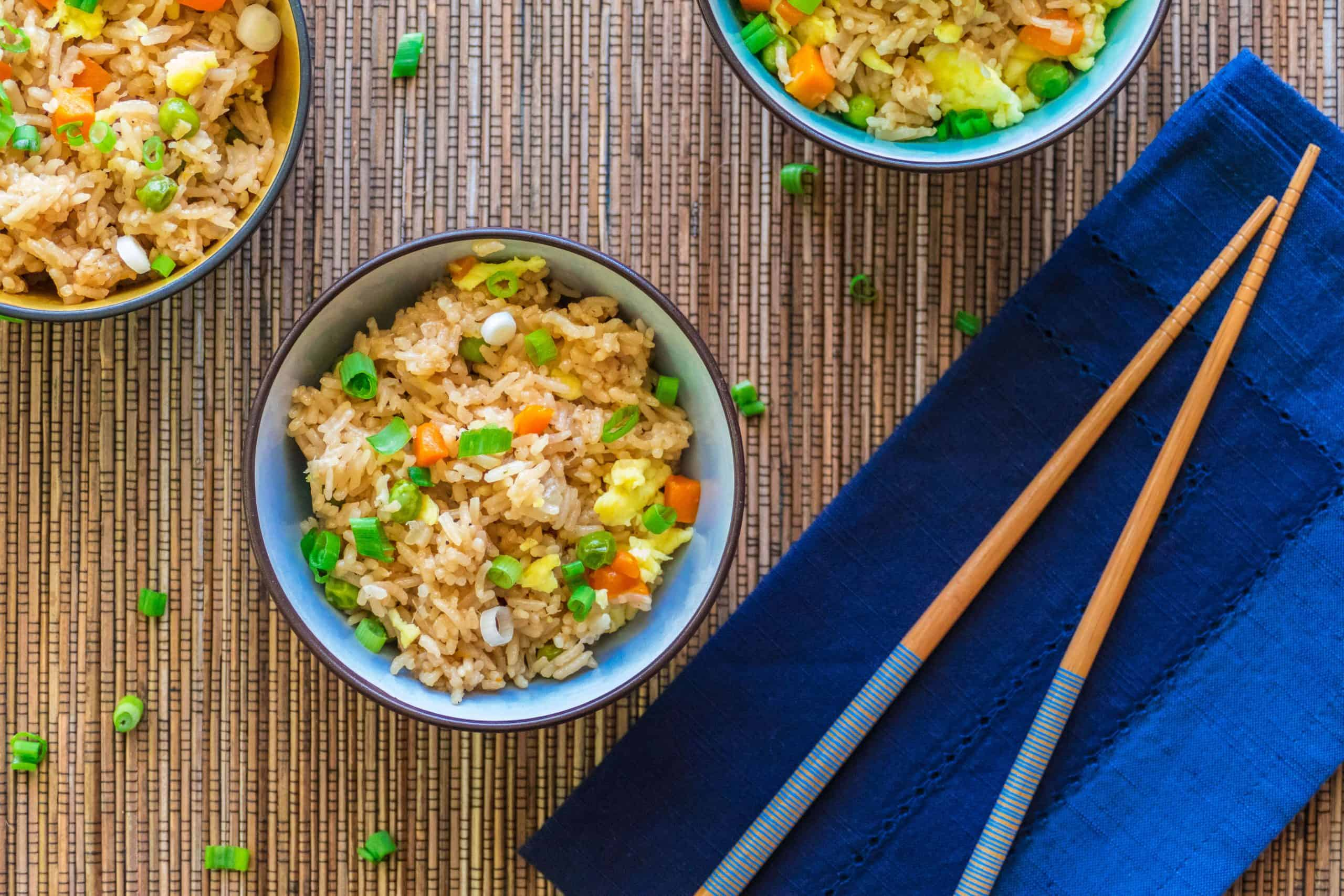 Easy chinese style instant pot fried rice paint the kitchen red ccuart Choice Image