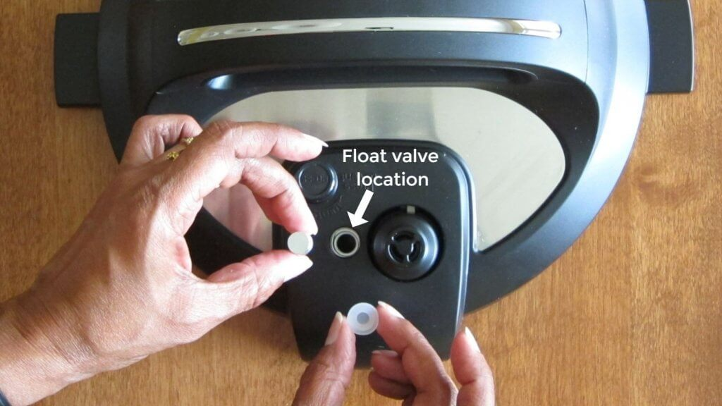 Instant Pot Float Valve location - Paint the Kitchen Red