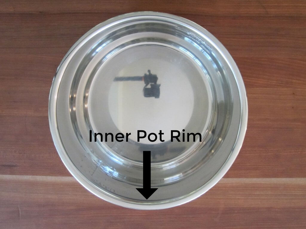 Instant Pot Inner Pot Rim - Paint the Kitchen Red
