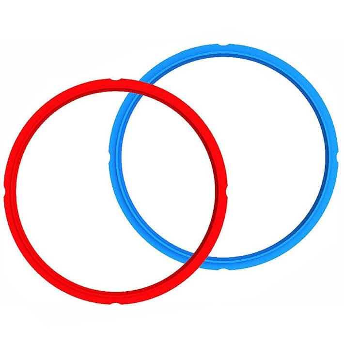 Instant Pot Sealing Rings - one red and one blue