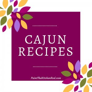 Cajun Recipes Category Paint the Kitchen Red