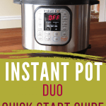 Instant Pot How to Quick Start Guide DUO - Paint the Kitchen Red