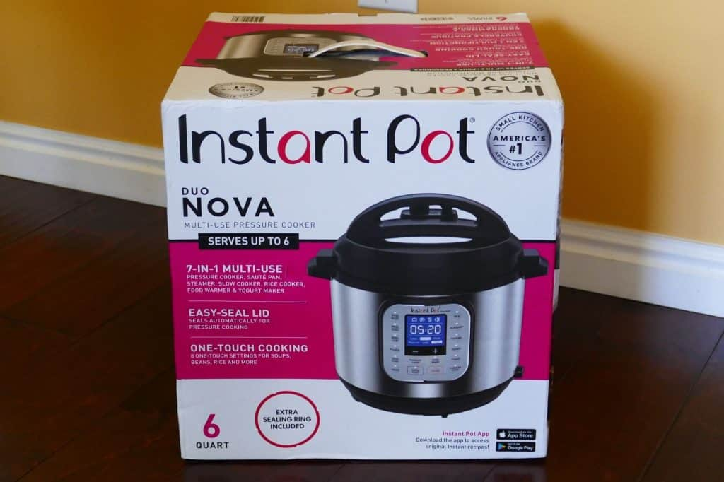 Instant Pot Evo in box - PInstant Pot Duo Evo Plus brand new in box - Paint the Kitchen Redaint the Kitchen Red
