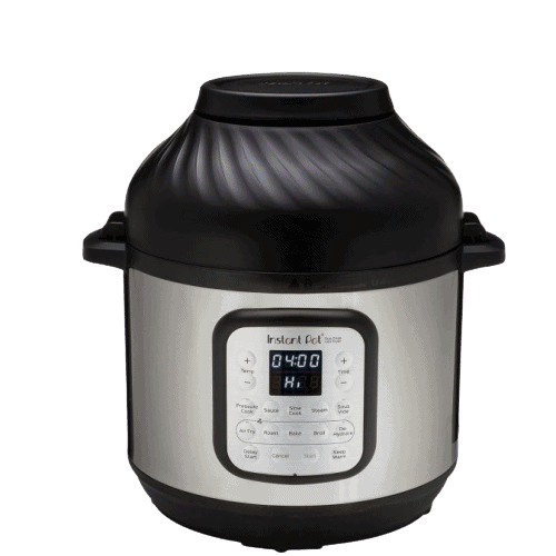 Instant Pot Duo Crisp Air Fryer Stock Image