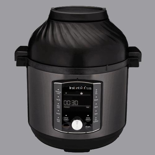Instant Pot Pro Crisp Air Fryer Stock Image