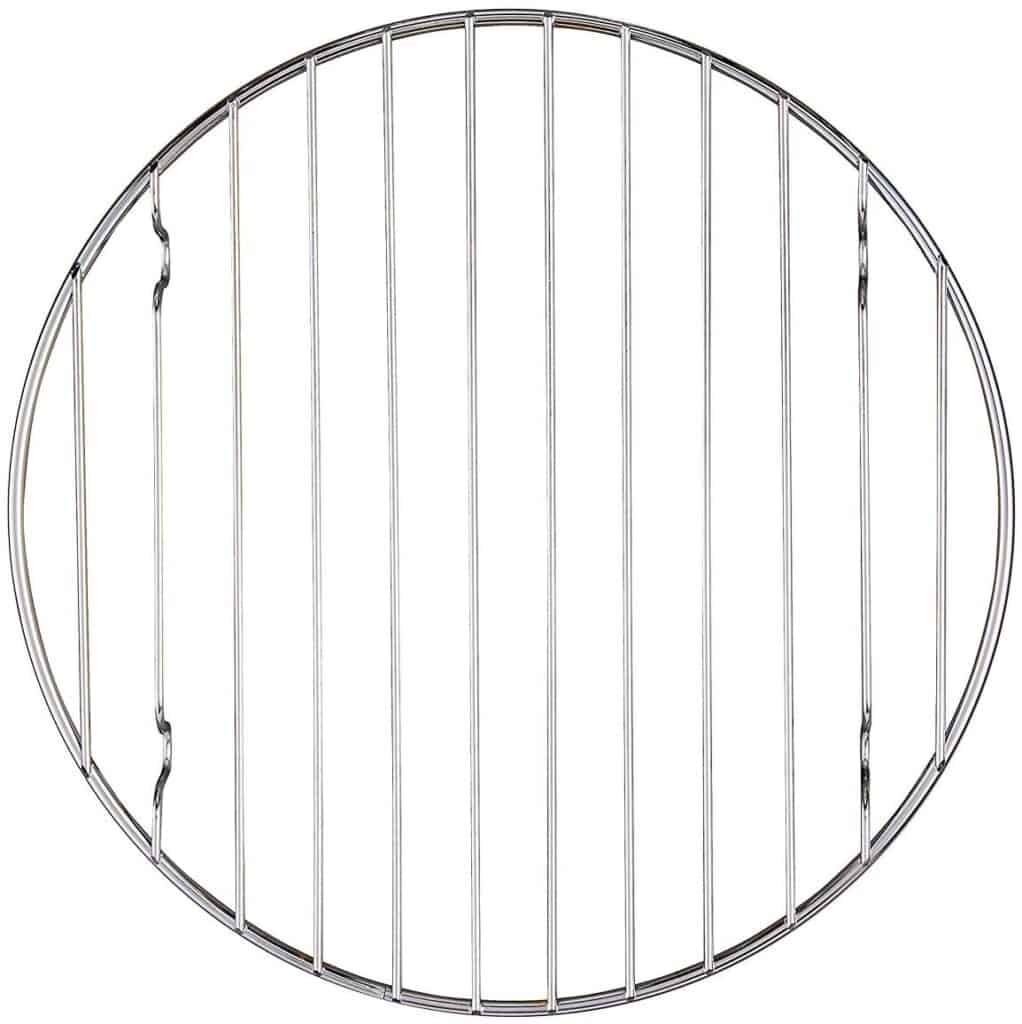 Flat wire round rack