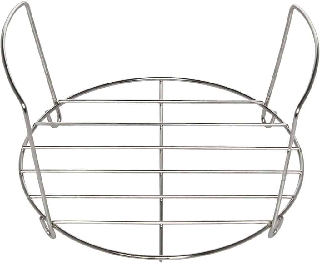 Instant Pot brand trivet metal rack with handles