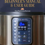 Instant Pot Duo Gourmet Beginners Manual and User Guide Pinterest Image
