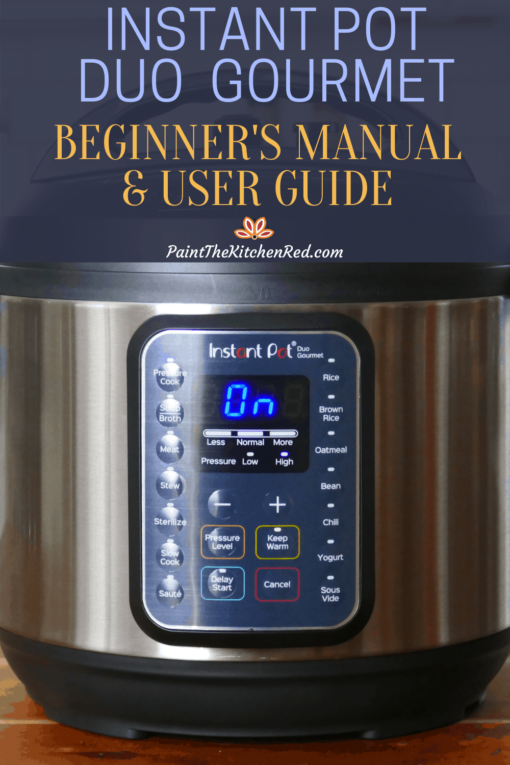 How To Use The Instant Pot Duo Gourmet Costco Instant Pot Beginner S Manual Paint The Kitchen Red Some of the pieces are really large, so. how to use the instant pot duo gourmet