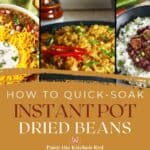 How to quick soak Instant Pot dried beans