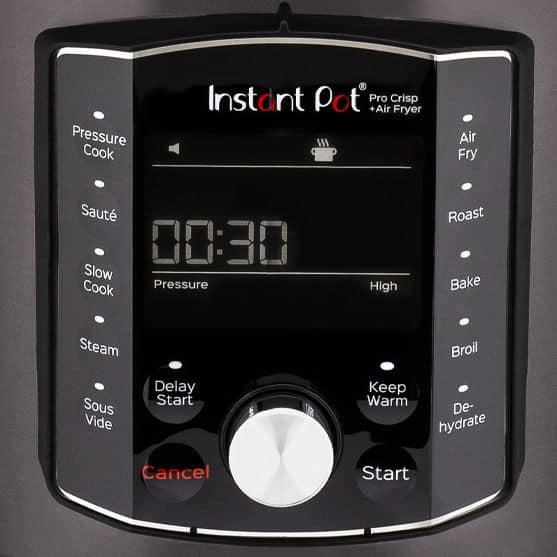Instant Pot Pro Crisp Display Panel